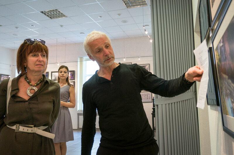 Дмитрий Конрадт на выставке