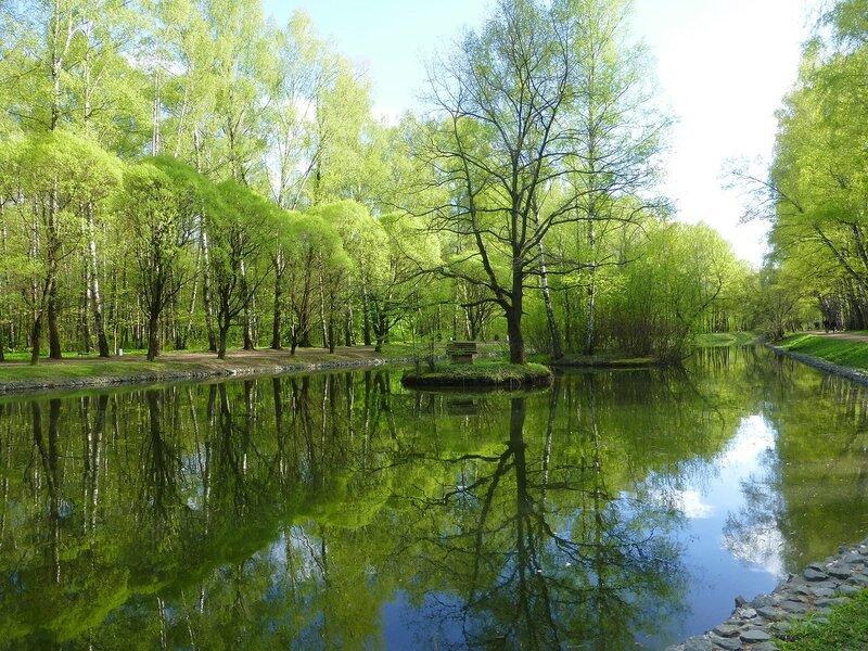 Путяевские пруды весной