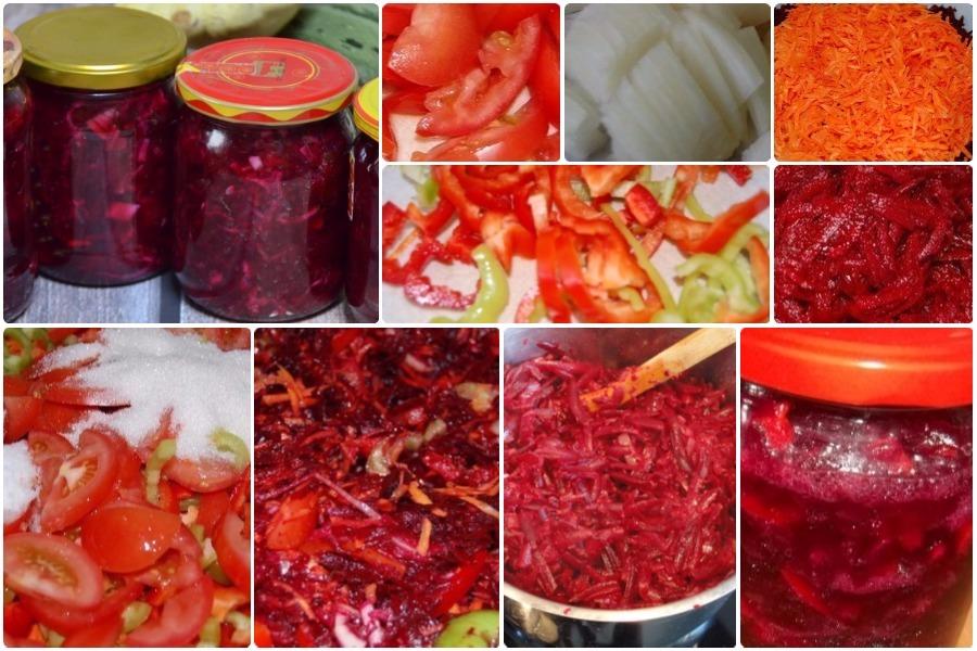 Как сделать заправку для борща из моркови и свеклы