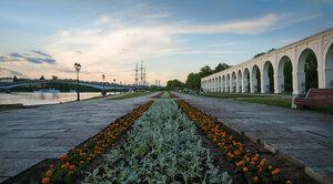 Вечерние прогулки по Новгороду