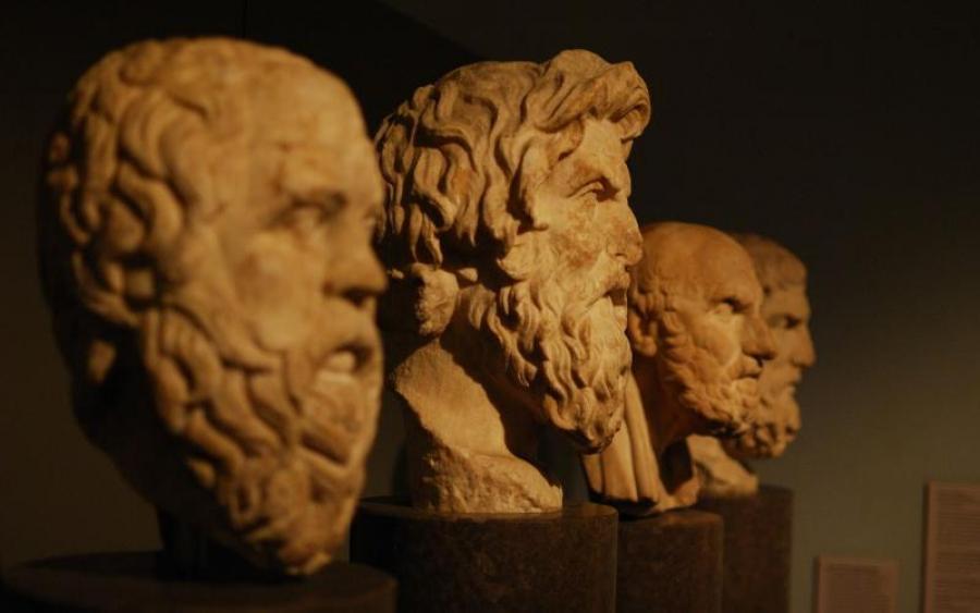 Открытки. Международный день философии. Философы