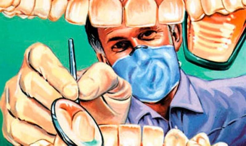 С Днем стоматолога. Проверяем зубки