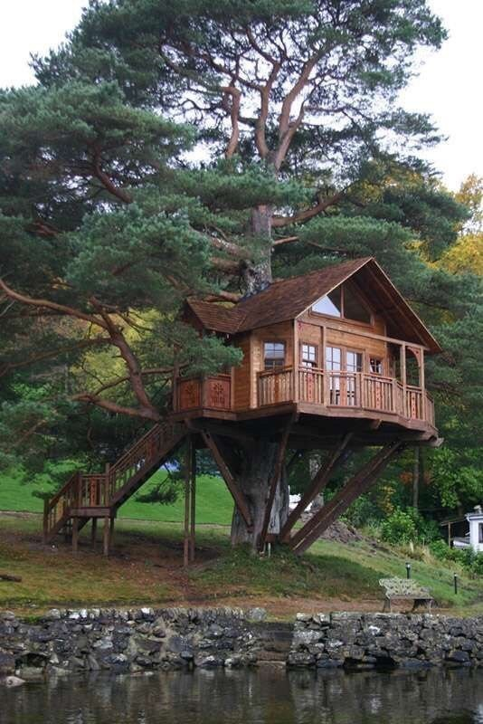 0 180199 8a73f1a orig - Дом на дереве - кто о нем не мечтал в детстве?