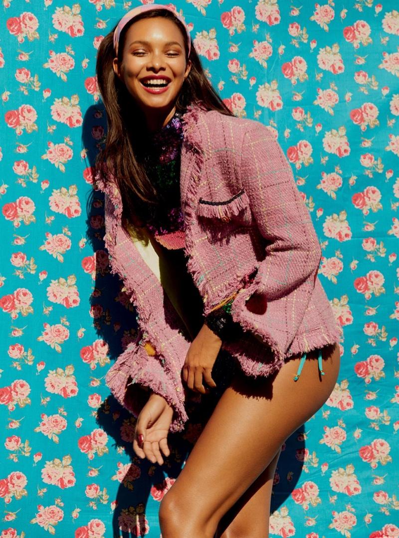 Лаис Рибейро в бразильском Vogue