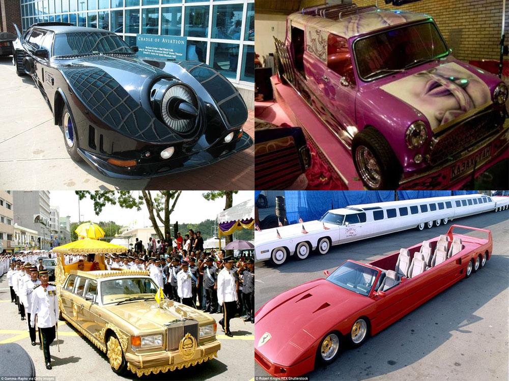Роскошь на колесах: самые-самые лимузины (14 фото)