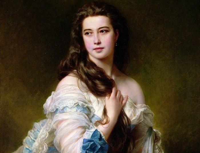 Красавица с портрета: как русская Венера покорила Париж (1 фото)
