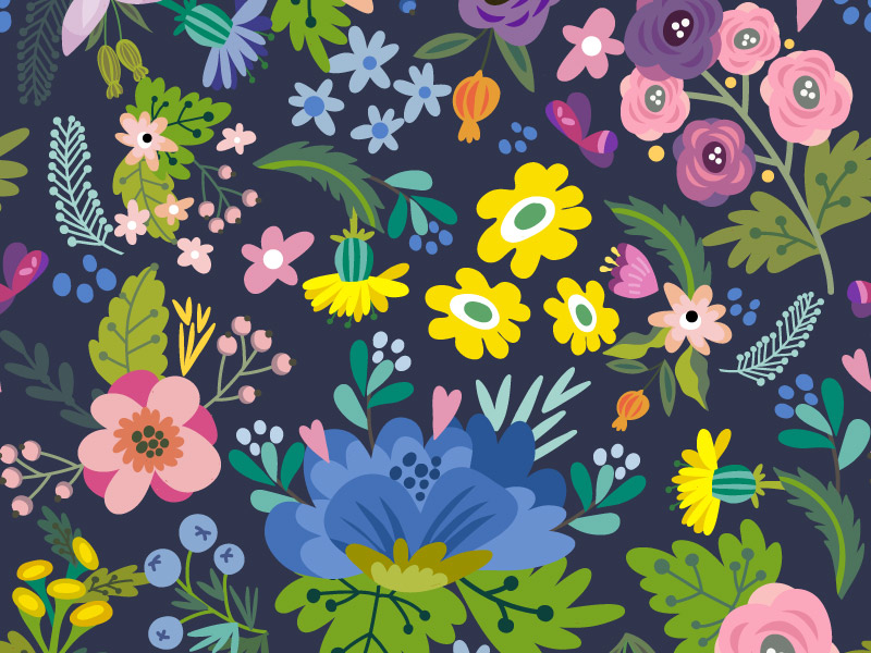 Need Some Floral Pattern Design Inspiration? We got your back!