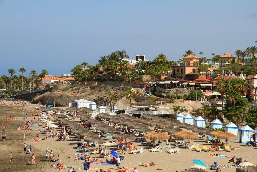 Описание и фото пляжа дель Дуке, Коста Адехе, Тенерифе