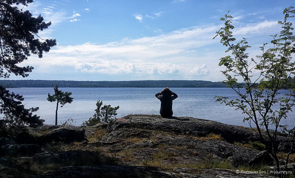 острова в Ладожском озере