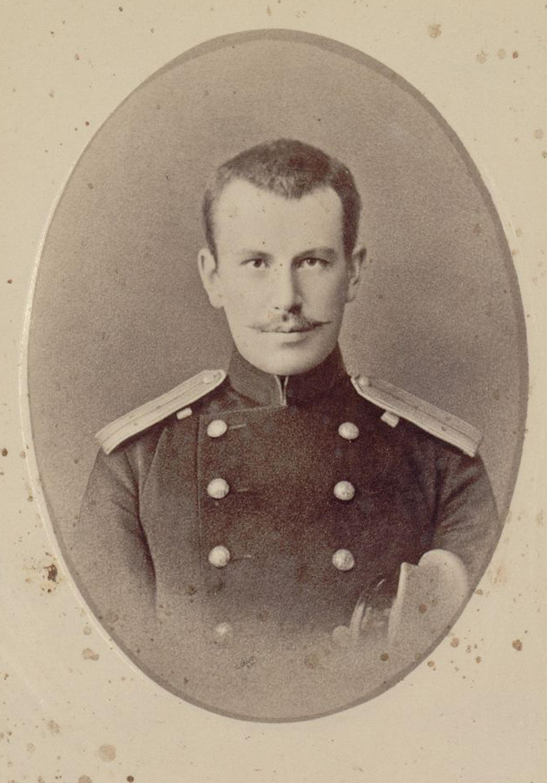 Граф Николай Феликсович Сумароков-Эльстон (1861-1908) в мундире
