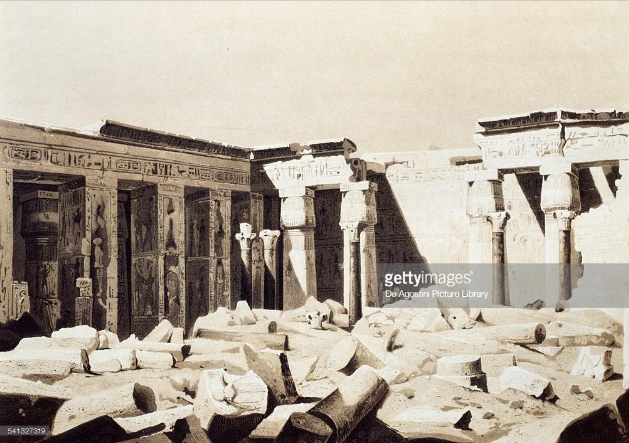 1841. Мединет-Абу. Заупокойный храм Рамсеса III