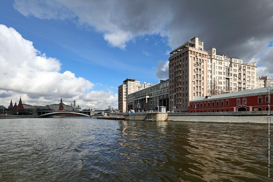 Большой Каменный мост, Кремль, «Дом на набережной»