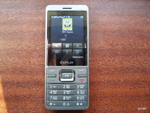 Explay MU240 (телефонный вызов)