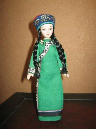 Куклы в народных костюмах №88 Кукла в костюме нивхов