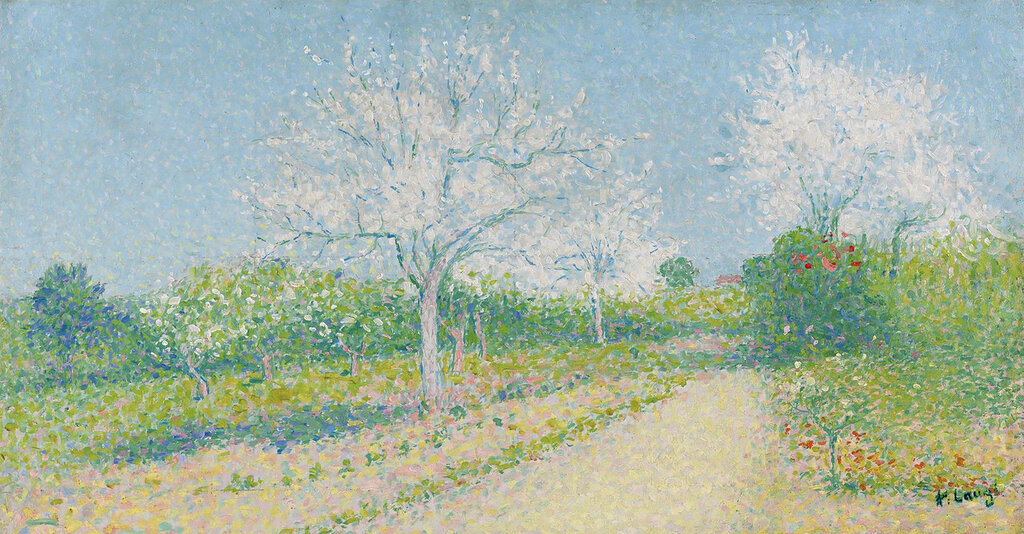 Achille Lauge - Almond Trees Blooming near Cailhau.jpeg