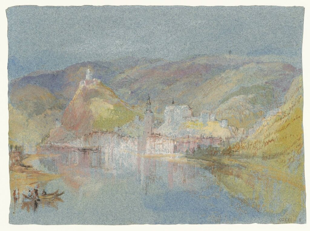 Cochem from the North circa 1839 by Joseph Mallord William Turner 1775-1851