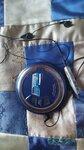 Плеер с батарейками, исправен, с пультом и наушниками - бесплатно