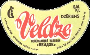 этикетка Велдзе