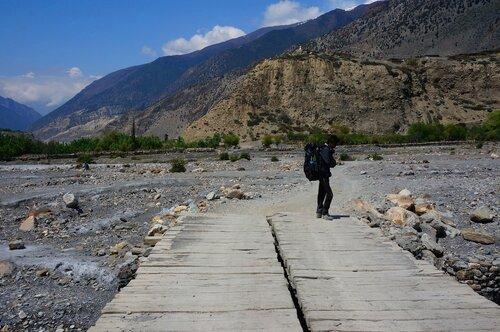 Высохшая река Кали-Каднаки