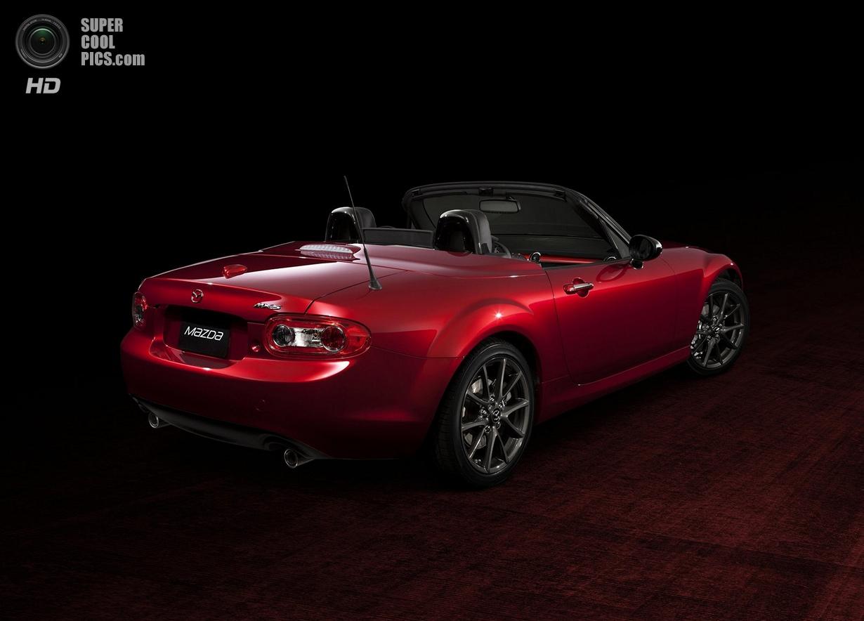 Mazda MX-5: Юбилейная версия