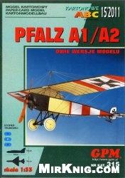 Журнал Pfalz A1/A2 [GPM 315]