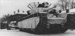 Камуфляж танков Красной Армии 1930-1945