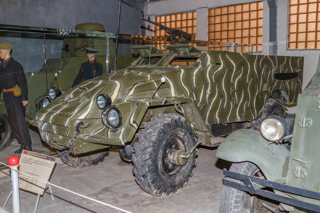 БТР-40 (1947 год), Кубинка
