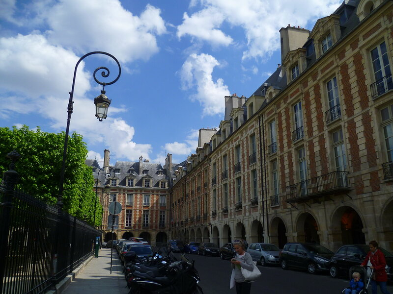 Париж, квартал Марэ (Paris Marais)