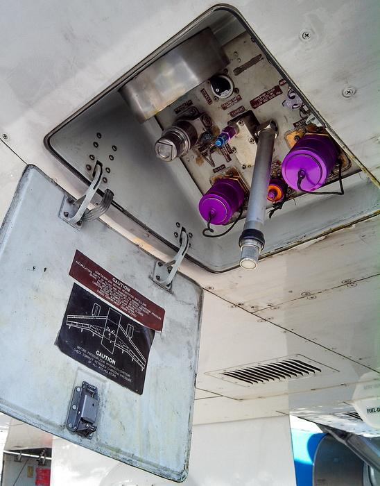 Как заправить жидкость в гидросистему самолёта Airbus-320