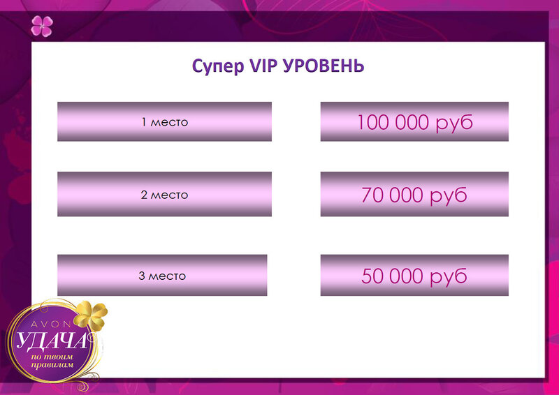 супер VIP уровень