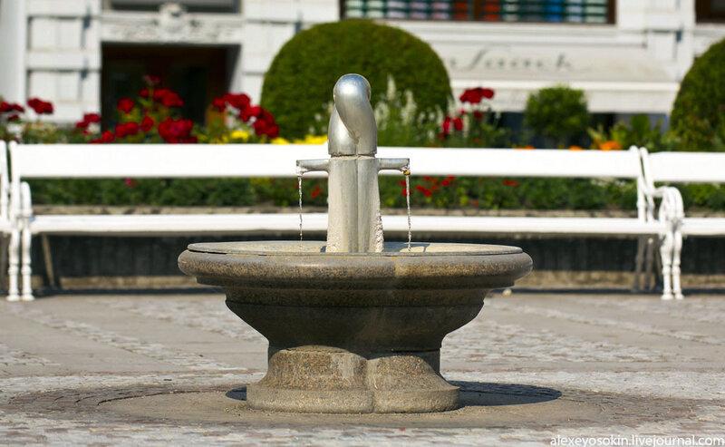 Минеральная вода в карловых варах показания