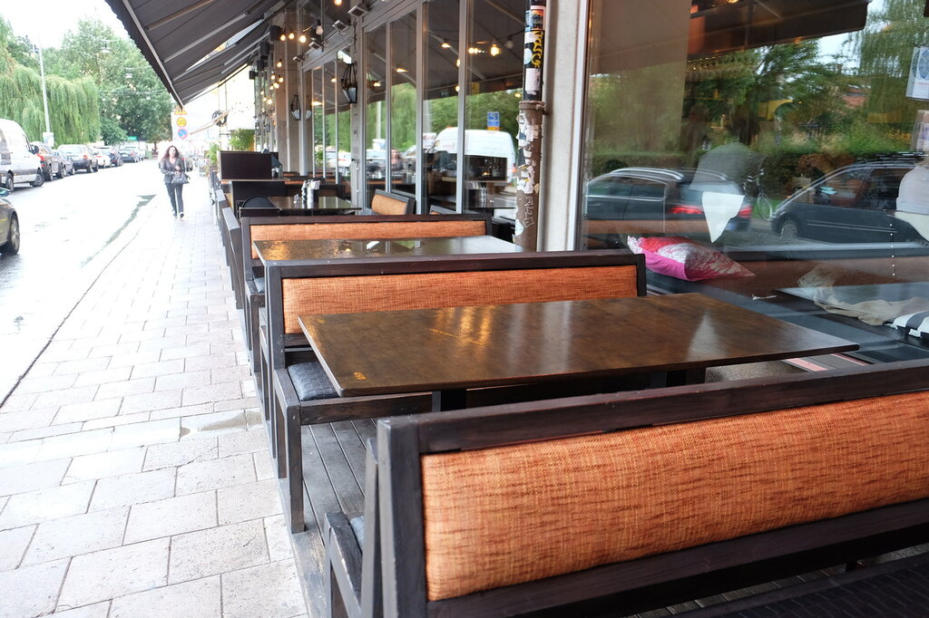 Бизнес-ланч в Стокгольме...