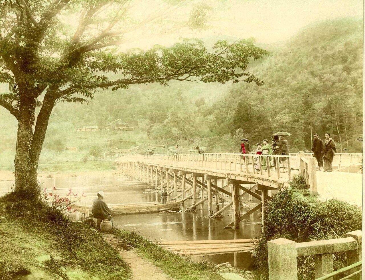 Киото. Мост