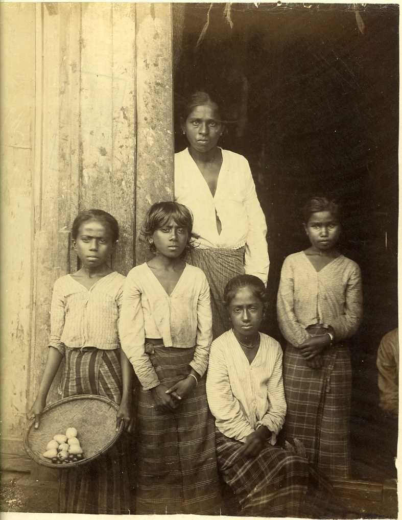 Коломбо. Этнические типы. 1900