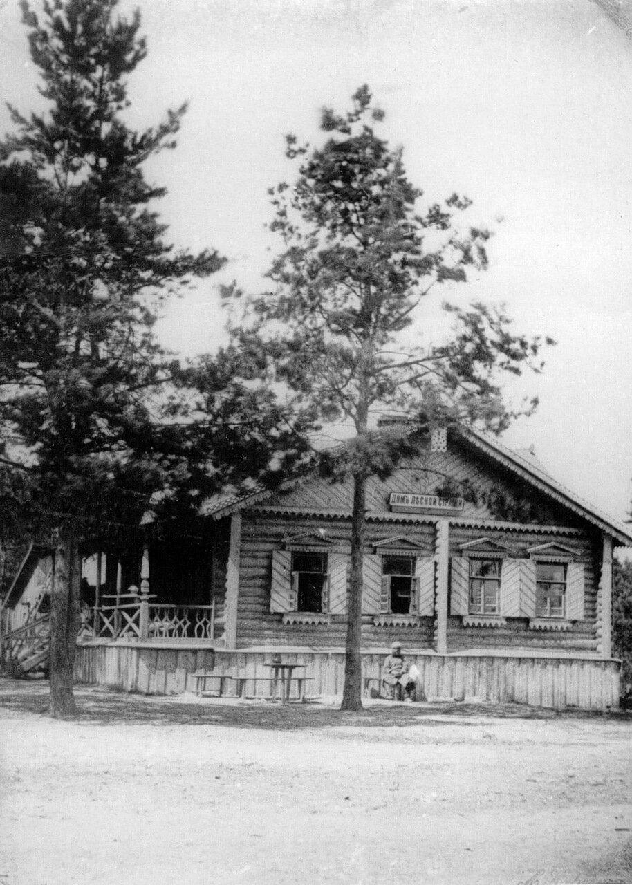 11. Въезд в лесную дачу графа П.П.Шувалова (дом лесной стражи)