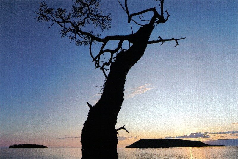 Острова Ушуканы (вблизи Ольхона), место лежбища Байкальских котиков - нерп