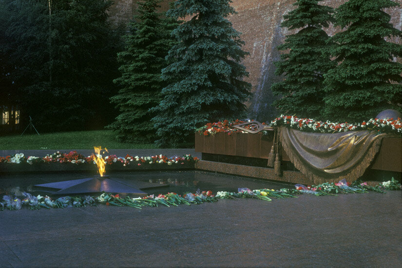 03. Мемориал у Кремлевской стены