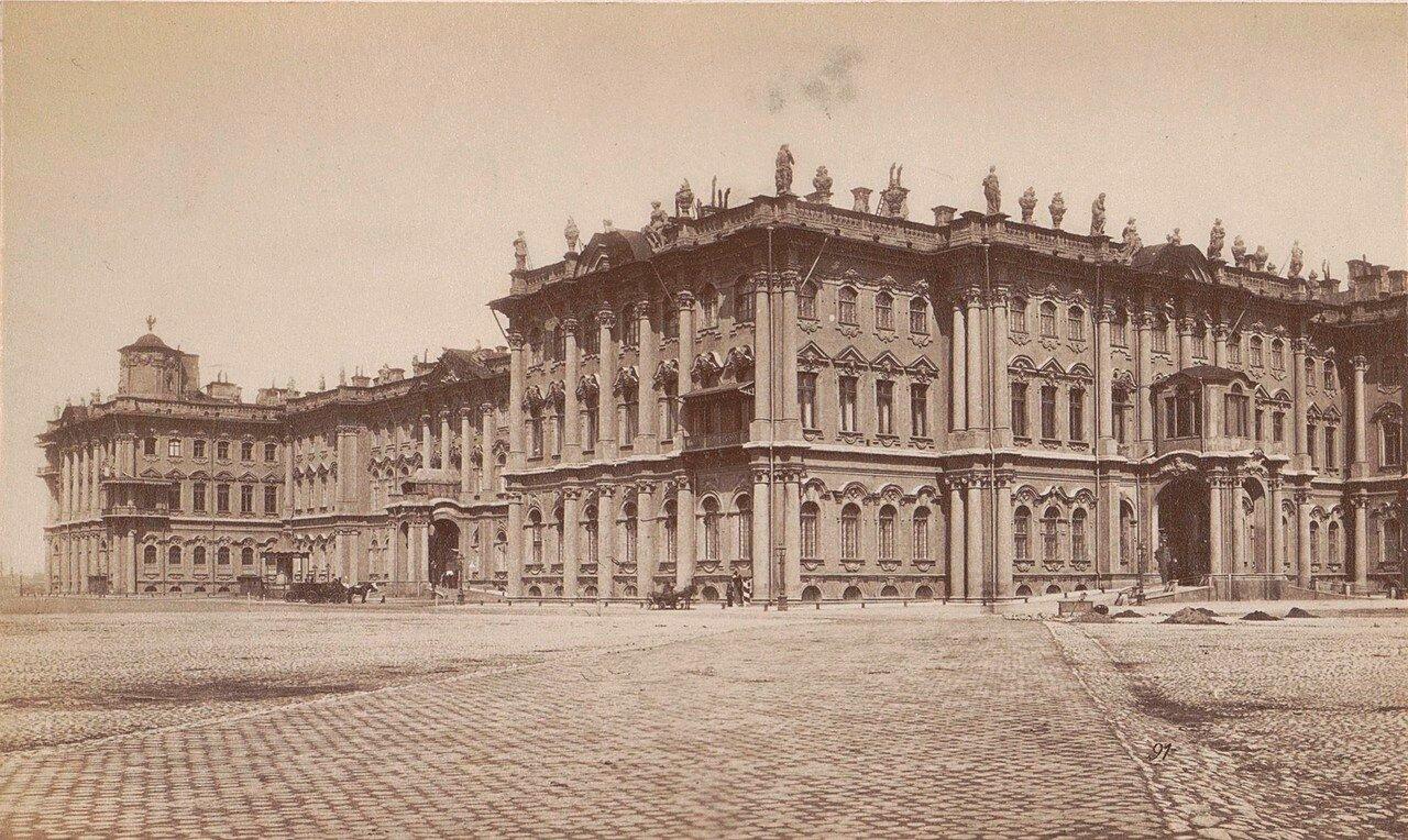 Юго-Восточный фасад Зимнего дворца