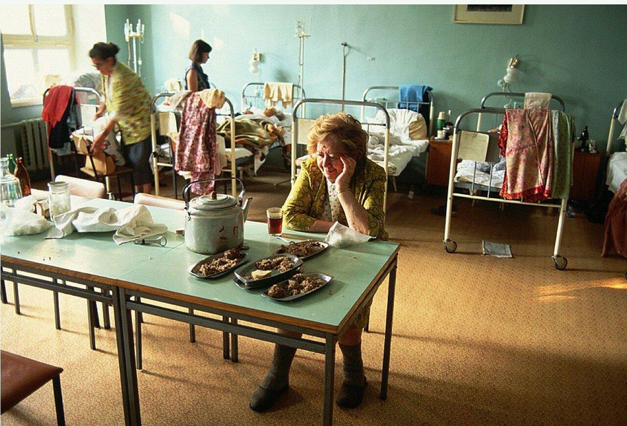 1991. Москва. В больнице