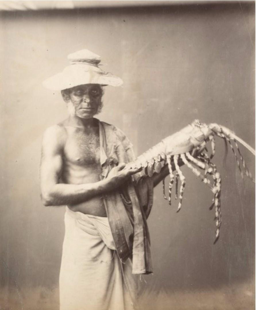 Рыбак с лобстером. 1885