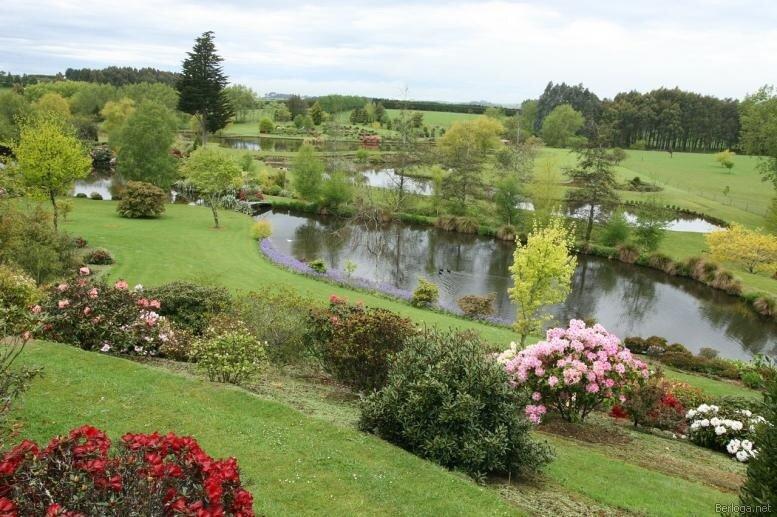 Долина реки Клена (Maple Glen garden) - частный сад в Саутленд, Новая Зеландия.