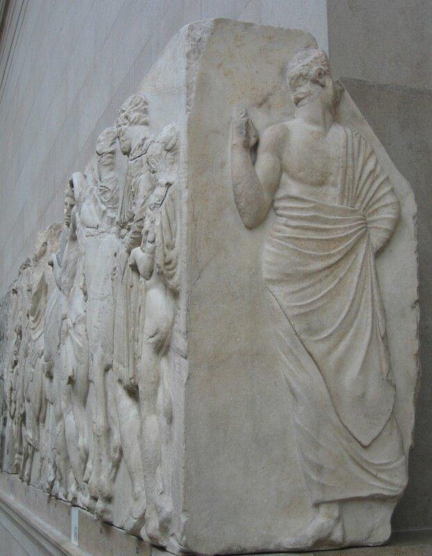 Зофорный фриз Парфенона.
