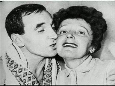 Charles Aznavour Edith Piaf