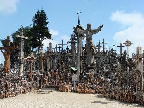 Гора крестов под Шяуляем
