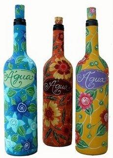 Интерьерная бутылка