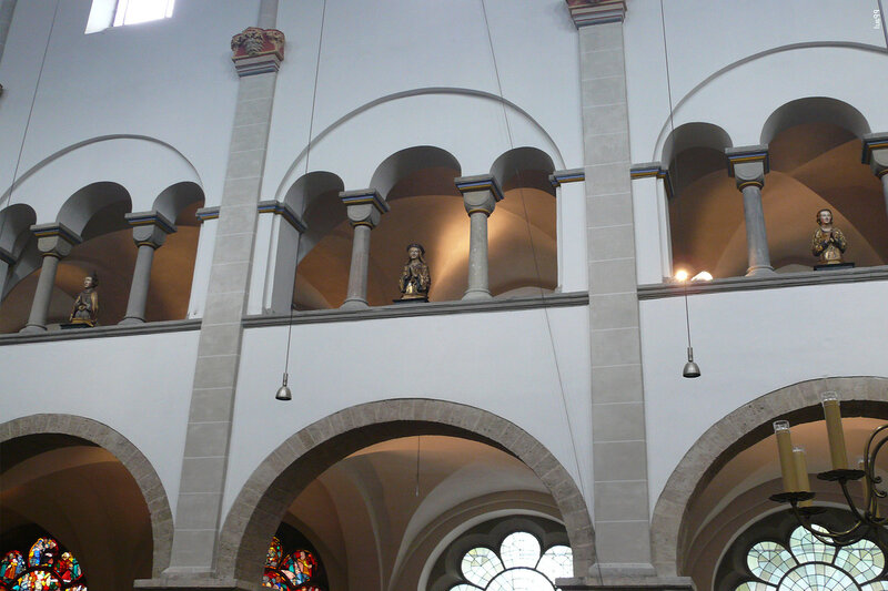 Романская церковь святой Урсулы.