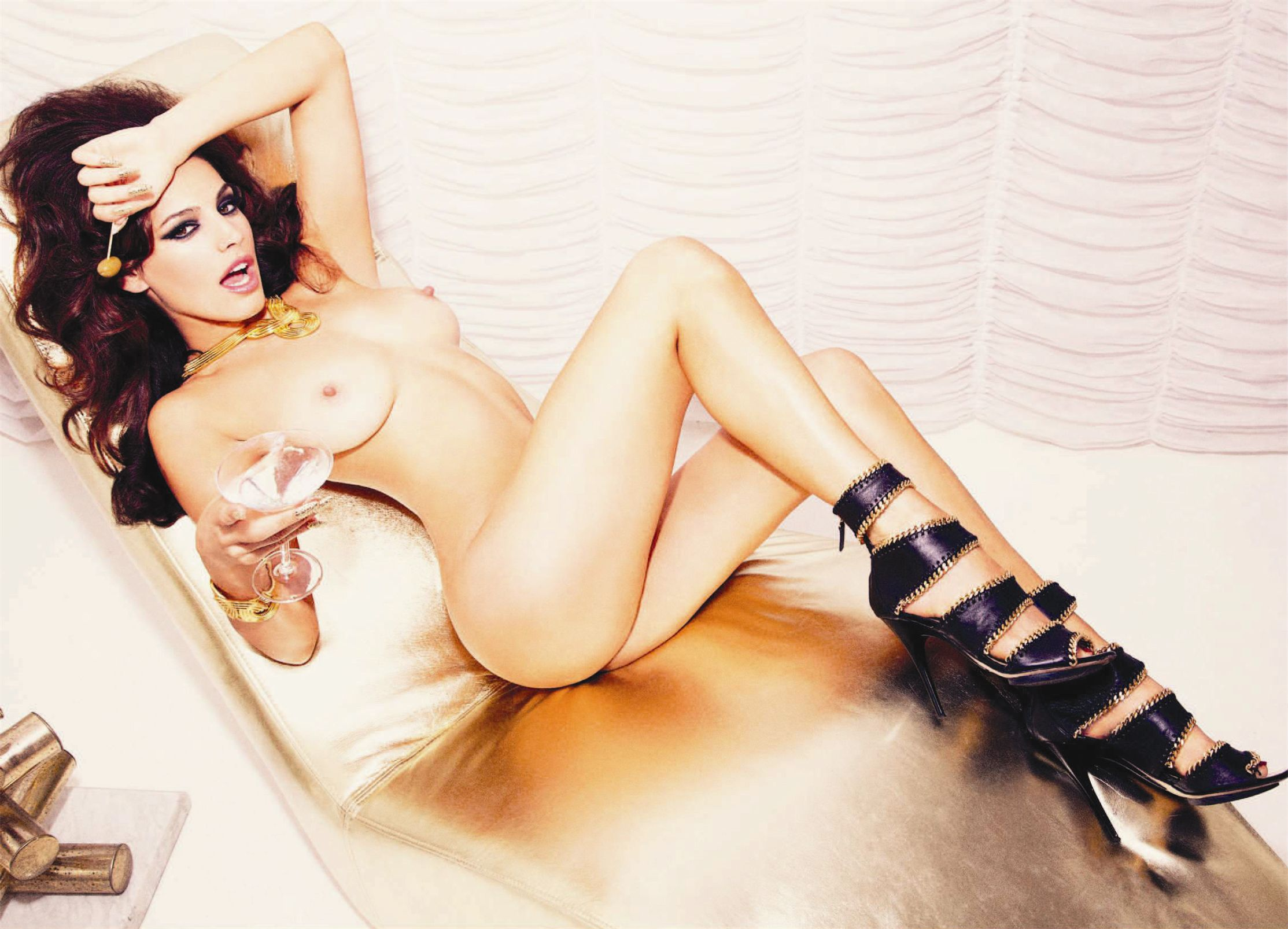 голая Келли Брук / Kelly Brook by Ellen von Unwerth in British Invasion for Playboy