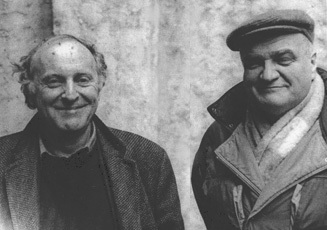Иосиф Бродский и Вячеслав Иванов.