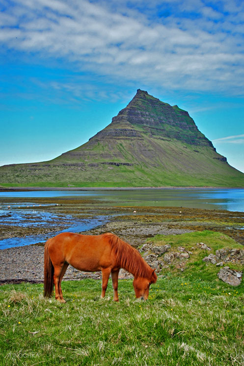 Гора Kirkjufell