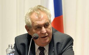 Президент Чехии мечтает о вступлении России в ЕС